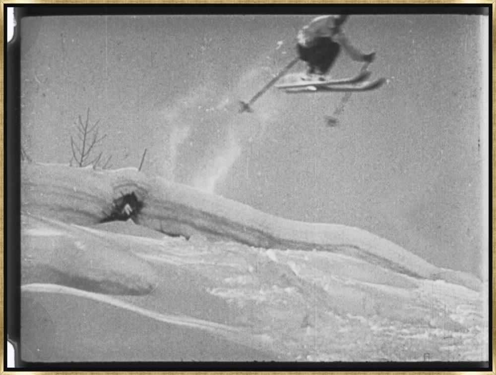 Vintage Ski Slope by Chris Dunker