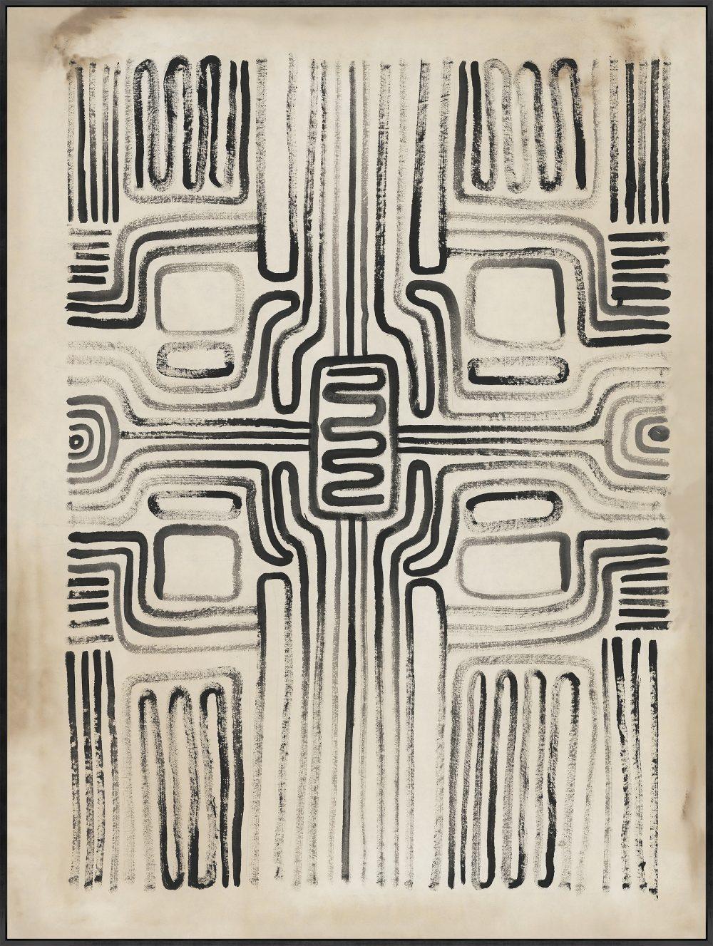 Tribal Pattern I by Nathan Novac