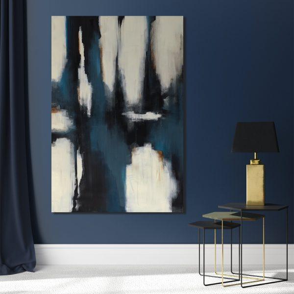 Blue Curtain by Keegan Stewart