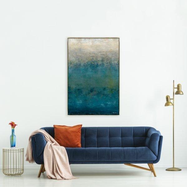 Spectacular Coastal Reflections by Lisa Tear