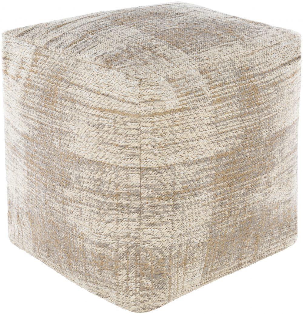 Jacquard Dalen Floor Pouf