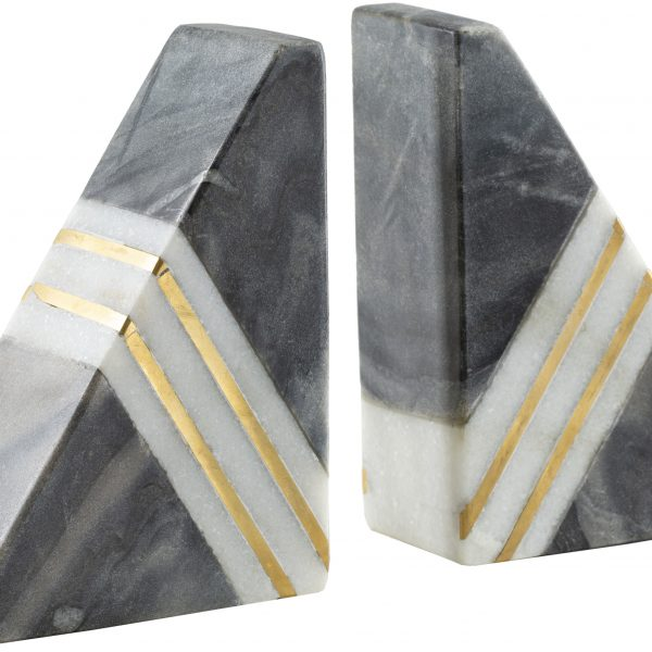 Marble Pyramid Book End (set of 2)